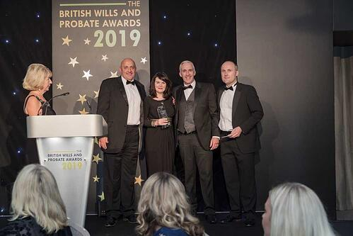 British Wills and Probate Awards 2019 - Winner Kings Court Trust