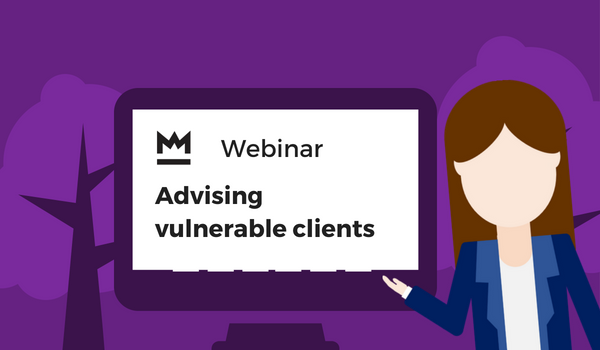 Advising vulnerable clients webinar