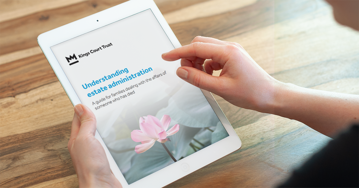 Understanding estate administration - families guide - mockip