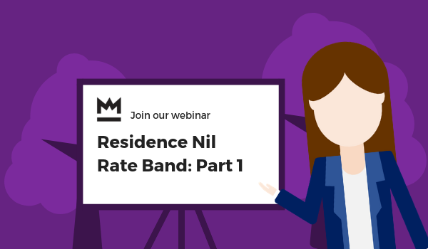 Residence Nil Rate Band: Part 1