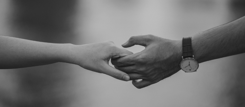 Image of a couple's hands
