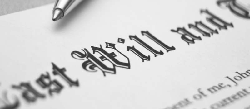 cost of getting a will written